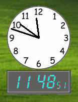 Extra Clock screenshot